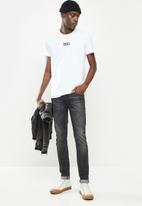 Diesel  - T-diegos-smallogo T-shirt- white