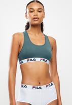 FILA - Mia bra - mid blue