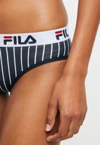 FILA - Stella brief - navy & white