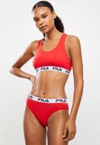 FILA - Becca brief - red