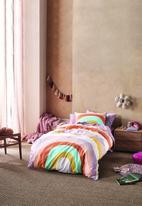 Linen House - Let good times roll duvet cover set - lilac