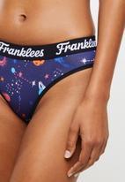 Franklees - G-string - purple