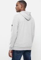 Vertigo - Mens Vertigo sweater pullover hoodie - grey