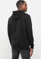 Vertigo - Mens Vertigo sweater pullover hoodie - black