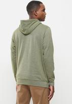 Vertigo - Mens Vertigo sweater pullover hoodie - olive