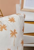Rubi - Printed cushion - palm trees