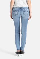 Ronald Sassoon - Slashed Picture Perfect Skinny Jeans
