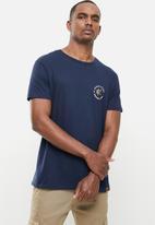 Kaizer Chiefs - Urban Edition - 50 years anniversary T-shirt gold foil - navy