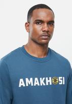 Kaizer Chiefs - Urban Edition - Amakhosi crew neck sweater - blue