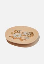 Rubi - Lrg trinket tray - retro floral