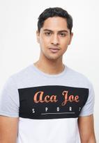 Aca Joe - Aca joe T-shirt - grey & red