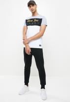 Aca Joe - Aca joe T-shirt - grey & yellow