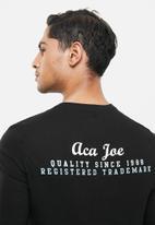 Aca Joe - Aca joe long sleeve T-shirt - black
