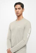 Aca Joe - Aca joe long sleeve T-shirt - stone