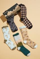 Typo - Box of socks - multi