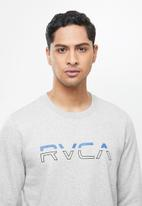 RVCA - Split pin crew - grey