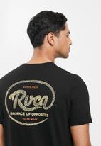 RVCA - Vasuki short sleeve tee - black