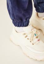 Flyersunion - Ub fleece spectra-dye jogger - navy
