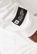 Flyersunion - Brushed fleece hoodie - white