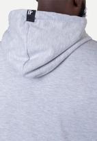 Flyersunion - Brushed fleece hoodie - grey