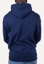 Flyersunion - Brushed fleece hoodie - navy