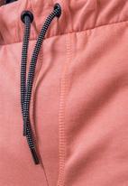 Flyersunion - Brushed fleece jogger - ashrose
