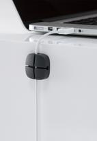 Litem - Cable check holder mini set of 2 - black