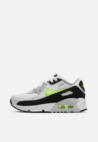 Nike - Nike air max 90 - white/hot lime-black-neutral grey