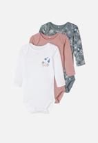 name it - 3 Pack bodysuits - multi