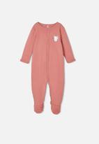 name it - 2 Pack nightsuits - rose & white