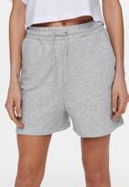 ONLY - Kappi sweat shorts - light grey