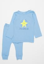 POP CANDY - Top & legging set - blue