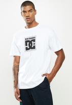 DC - Dc x bb burger box hss short sleeve tee - white