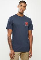 Vans - Frequency short sleeves tee - dress blues