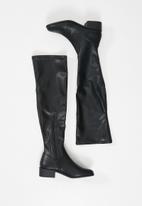 Steve Madden - Sadie over the knee boot - black