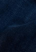 G-Star RAW - 3301 mid skinny ankle - blue