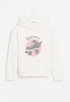 POP CANDY - Younger girls pullover hoodie - cream