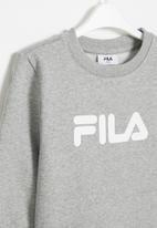 FILA - Mono deckle sweatshirt - grey