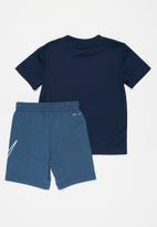 Nike - Nike boys comfort dri-fit short set - navy