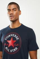 Converse - Chuck patch short sleeve tee - navy