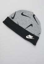 Nike - Nike footed pant 3 piece set - grey & white