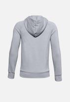 Under Armour - Ua boys rival fleece hoodie - grey & black