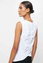New Balance  - Relentless tank print - white