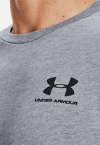 Under Armour - Ua sportstyle lc short sleeve tee - grey