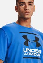 Under Armour - Ua gl foundation short sleeve tee - blue