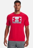 Under Armour - Ua boxed sportstyle short sleeve tee - red