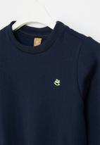 UP Baby - Baby boys sweatshirt - navy