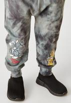 Flyersunion - Ub fleece spectra-dye jogger - charcoal