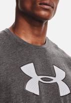 Under Armour - Ua big logo short sleeve tee - charcoal