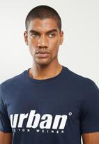 urban° - Mens urban T-shirt - navy